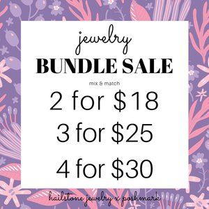 ❤️ HUGE JEWELRY SALE + FREE BAG